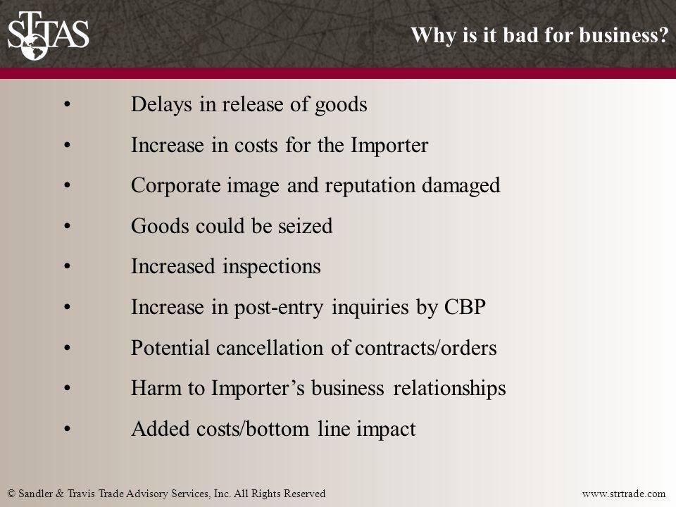 © Sandler & Travis Trade Advisory Services, Inc.All Rights Reserved www.strtrade.com 3.