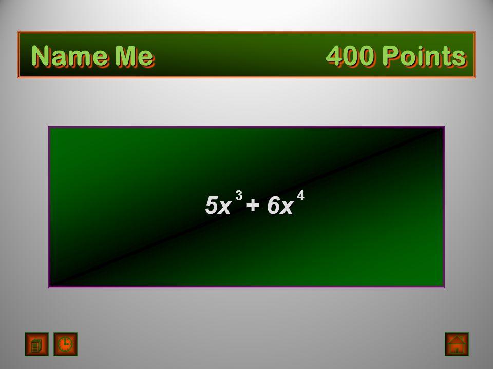 Cubic Trinomial
