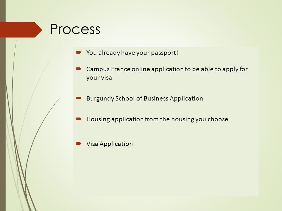 Getting Started  Apply for your passport.