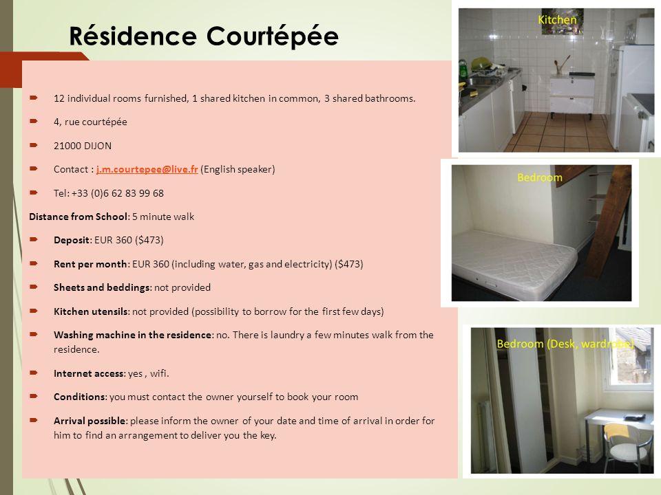 Residence Foyer des jeunes travailleuses et étudiantes – Trémouille for females only