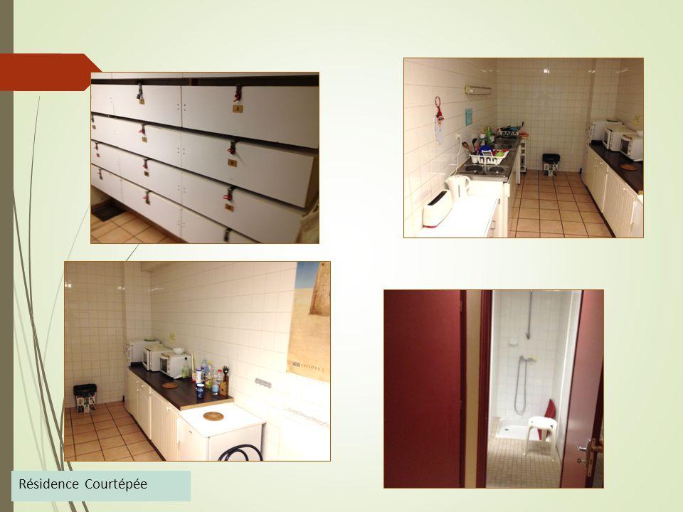 Résidence Courtépée  12 individual rooms furnished, 1 shared kitchen in common, 3 shared bathrooms.  4, rue courtépée  21000 DIJON  Contact : j.m.
