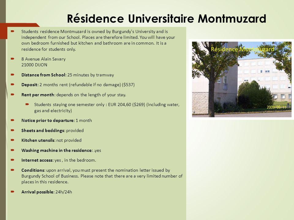 Résidence Universitaire Mansart