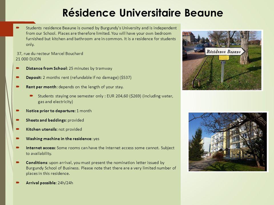 Résidence Universitaire Montmuzard
