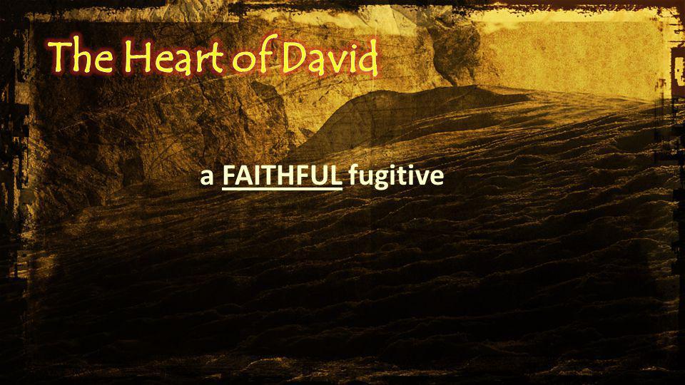 a FAITHFUL fugitive