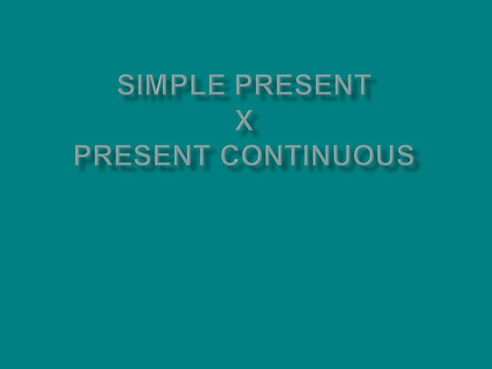 Como se forma o present continuous: Na interrogativa: Verbo be + Sujeito + Verbo/ing Am I writing.