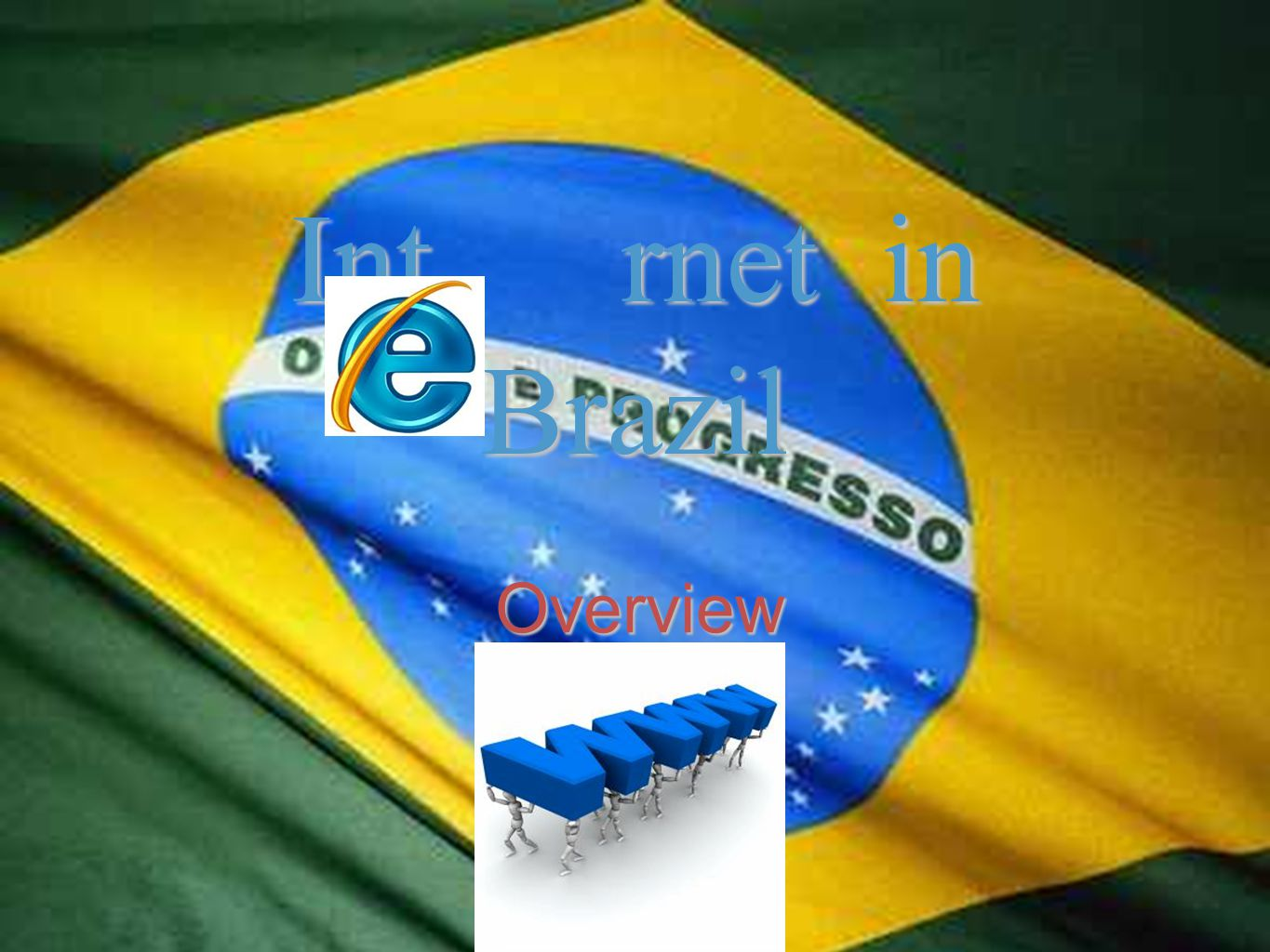 Overview Int rnet in Brazil