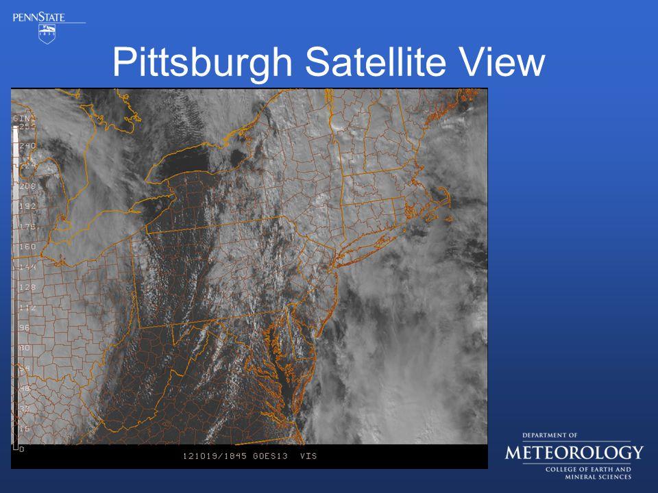 Pittsburgh Satellite View