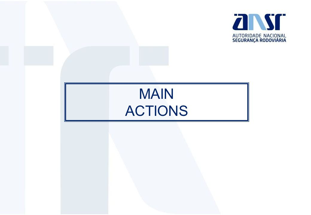 MAIN ACTIONS