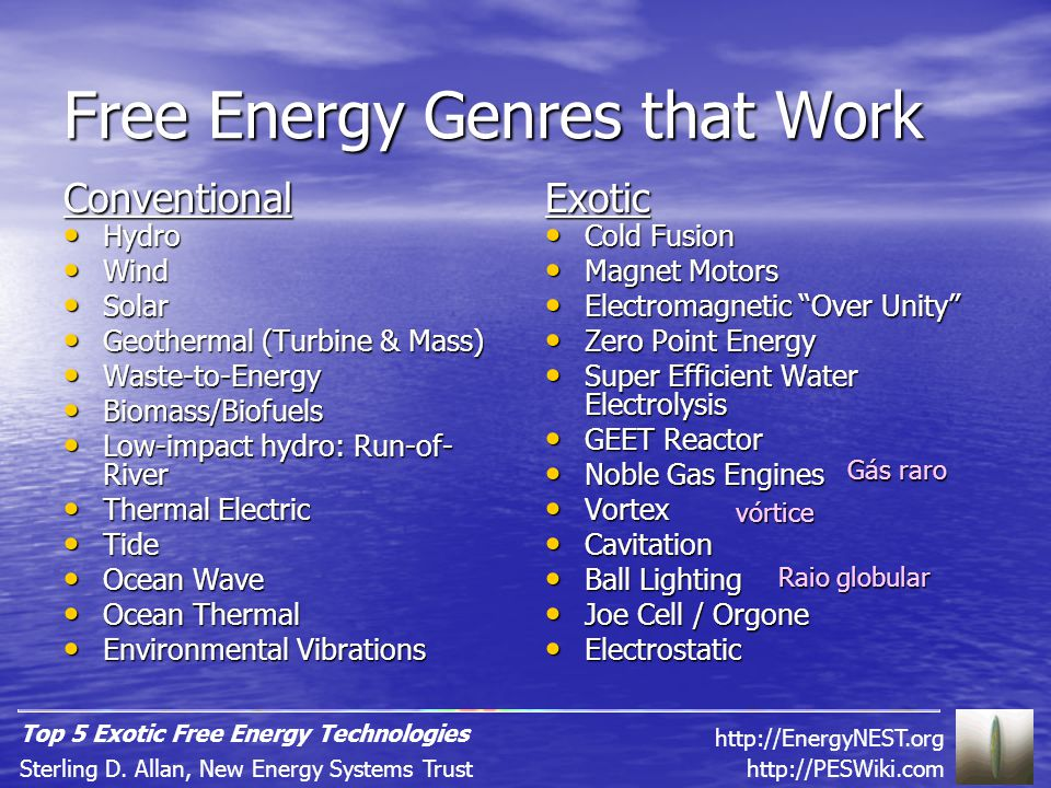Genres of Clean Energy Generation Technology 1.Animal-Powered 2.