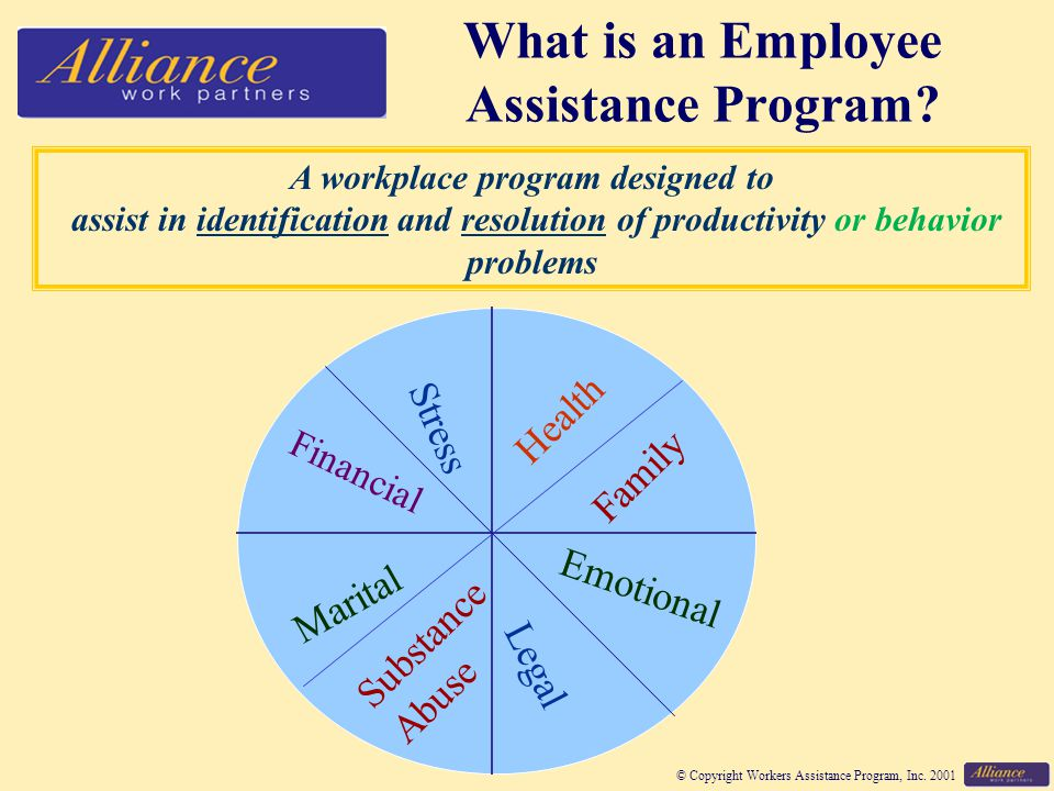 © Copyright Workers Assistance Program, Inc.