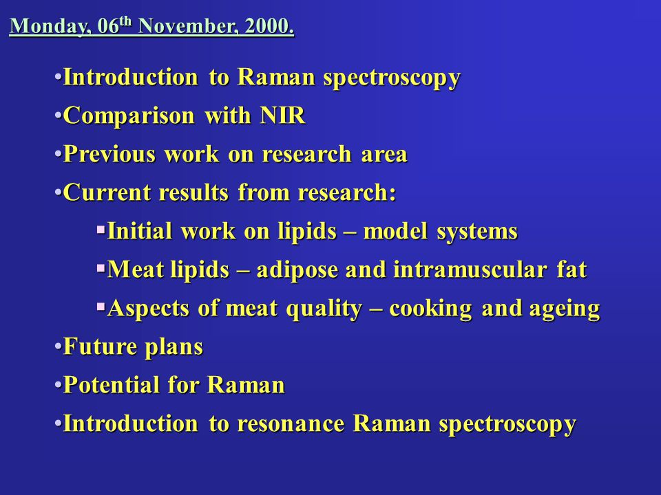Chicken Pork Beef Raman Shift / cm -1 Raman Intensity 65010001400 Raman spectra of various types of meat 1750 Amide I  -helix mode PhenylalanineAmide III