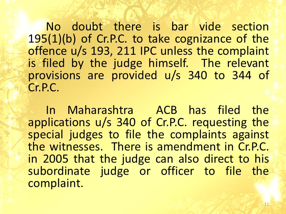 No doubt there is bar vide section 195(1)(b) of Cr.P.C.