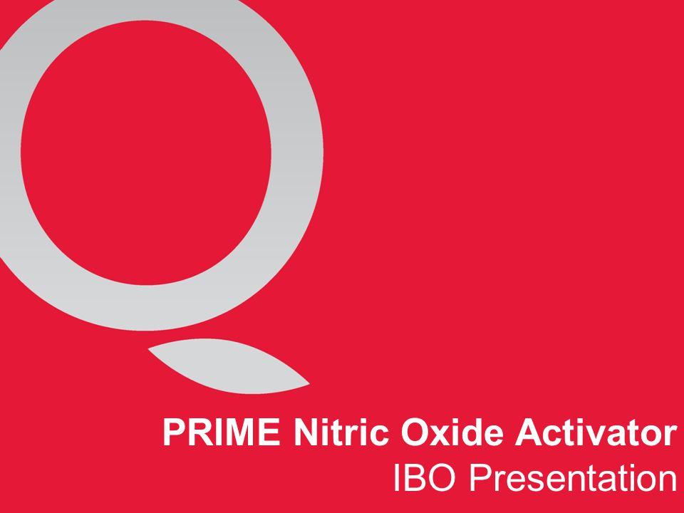 PRIME Nitric Oxide Activator IBO Presentation