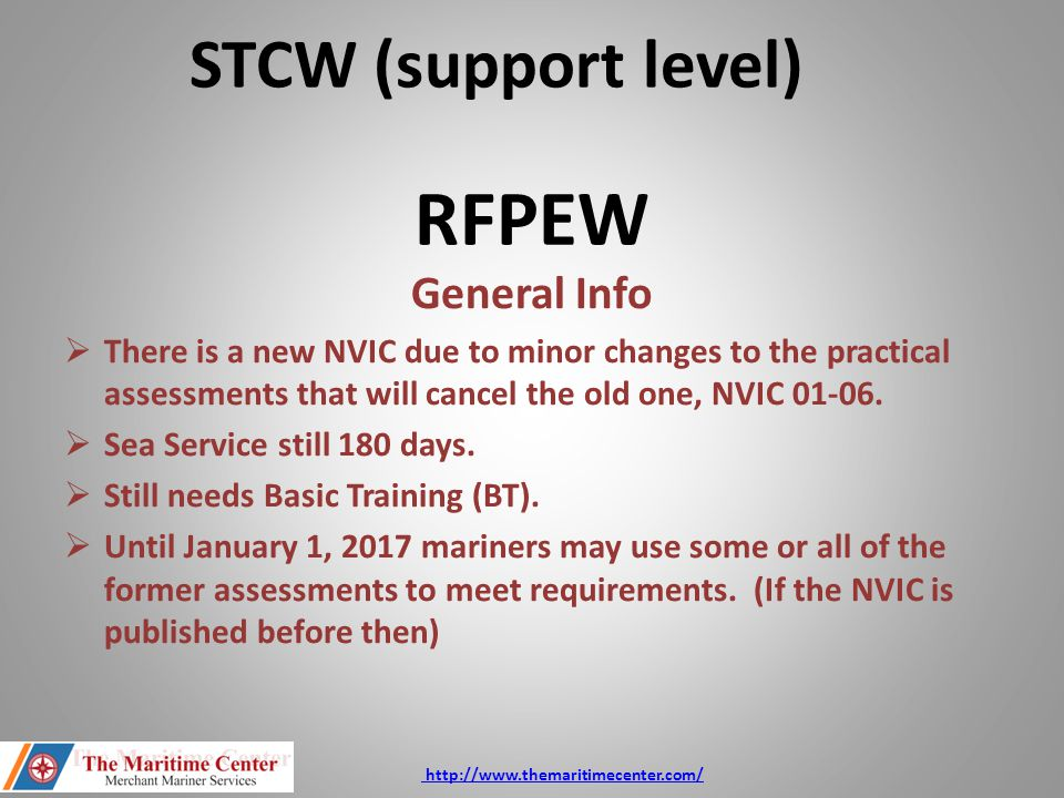 RFPEW  Crossover for those who complete assessments from both NVICS.