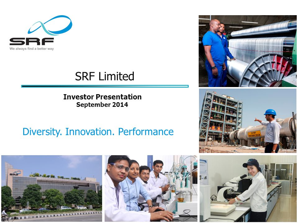 SRF Limited Diversity. Innovation.