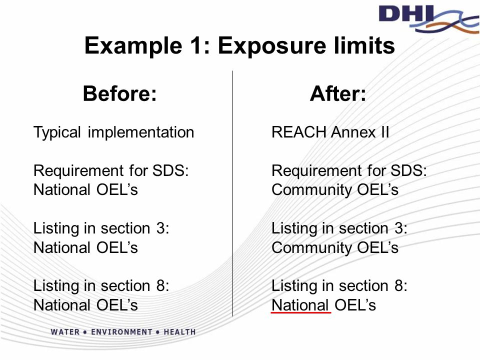 Example 2: Section Headers Before: After: Ex.
