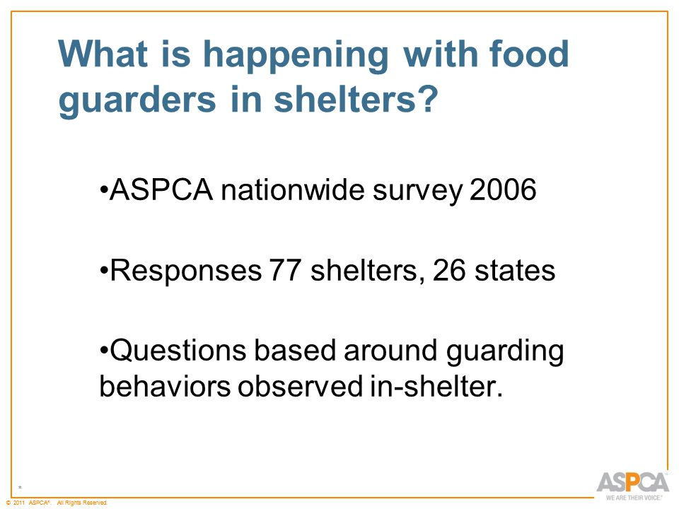 * © 2011 ASPCA ®.All Rights Reserved.