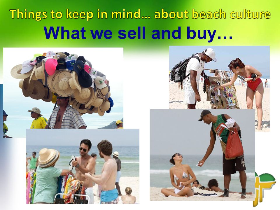 What we sell and buy…