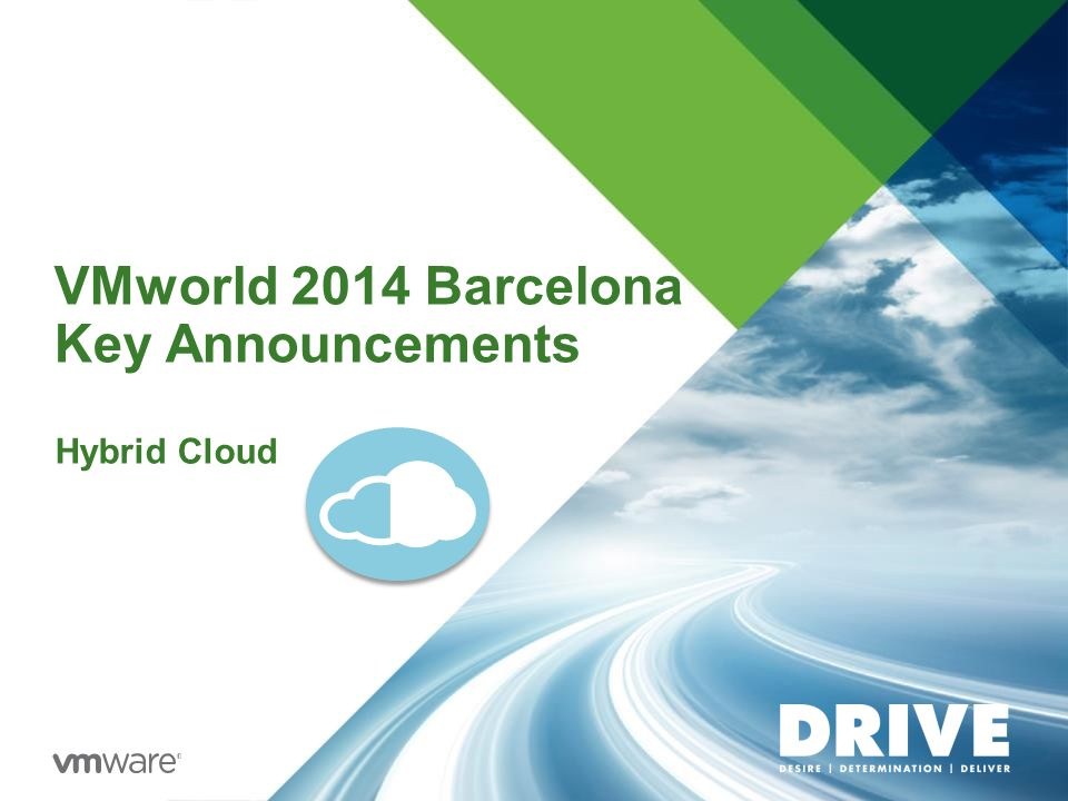 VMworld 2014 Barcelona Key Announcements Hybrid Cloud