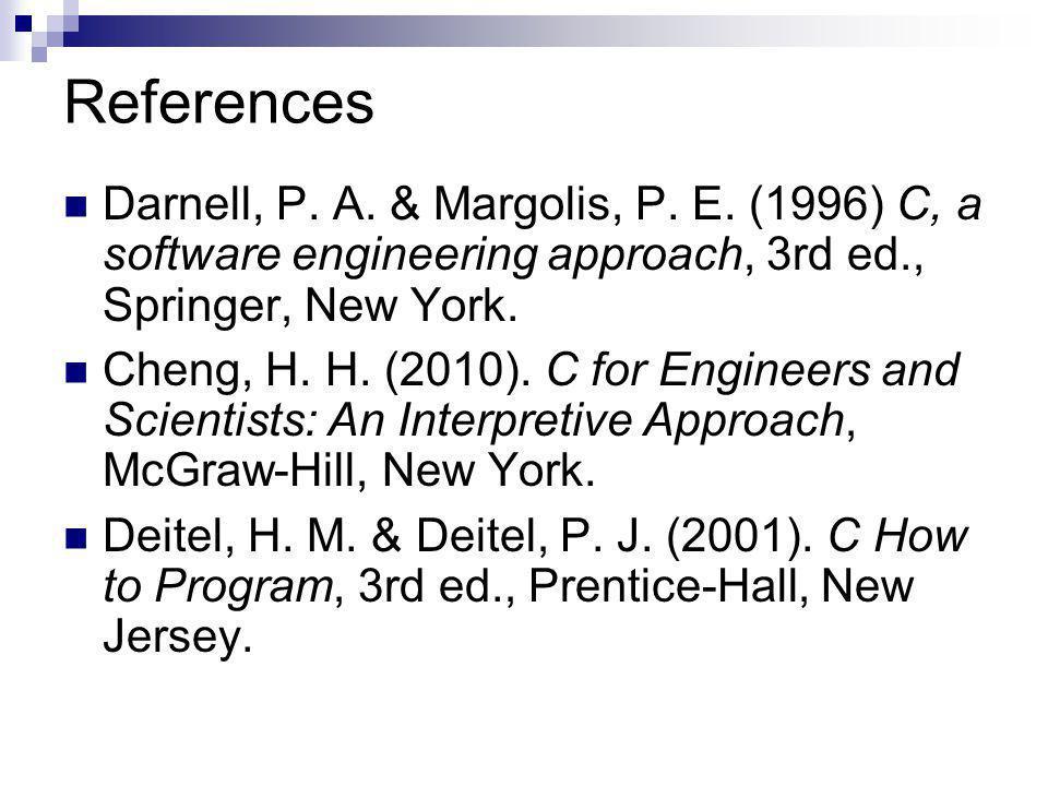 References Darnell, P. A. & Margolis, P. E.