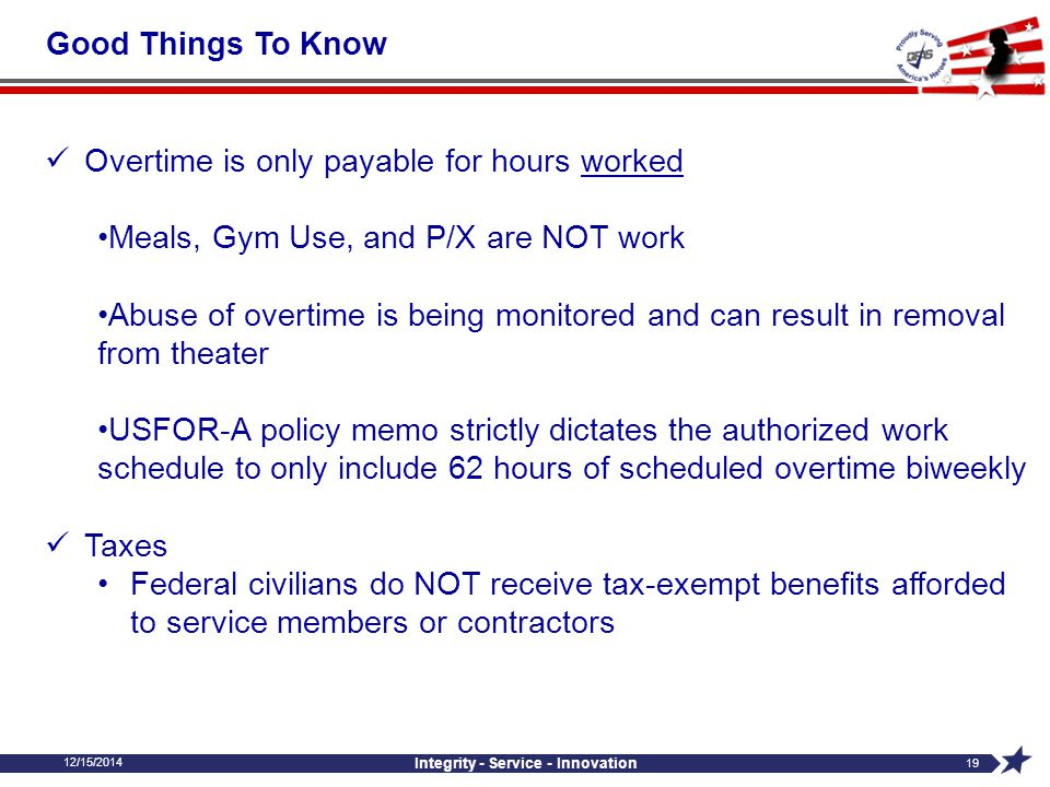 12/15/2014 Integrity - Service - Innovation 18  Travel Vouchers Partial payments should be scheduled to pay the traveler and GOVCC every 30 days whil