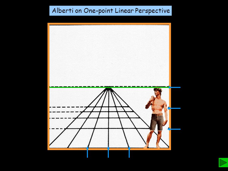 Alberti on One-point Linear Perspective