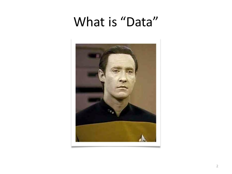 What is Data 2