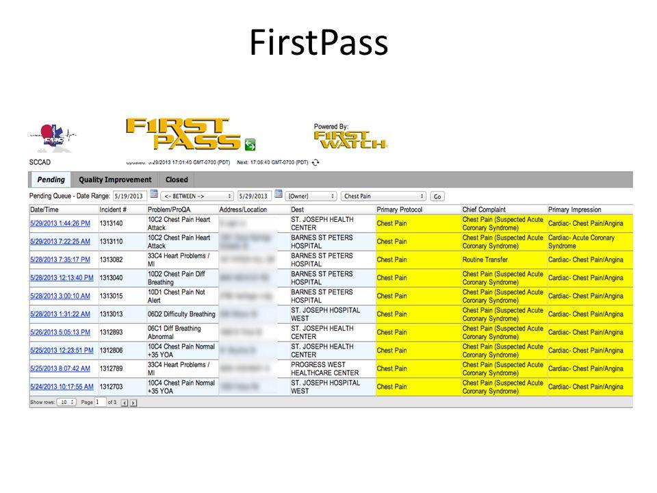 FirstPass