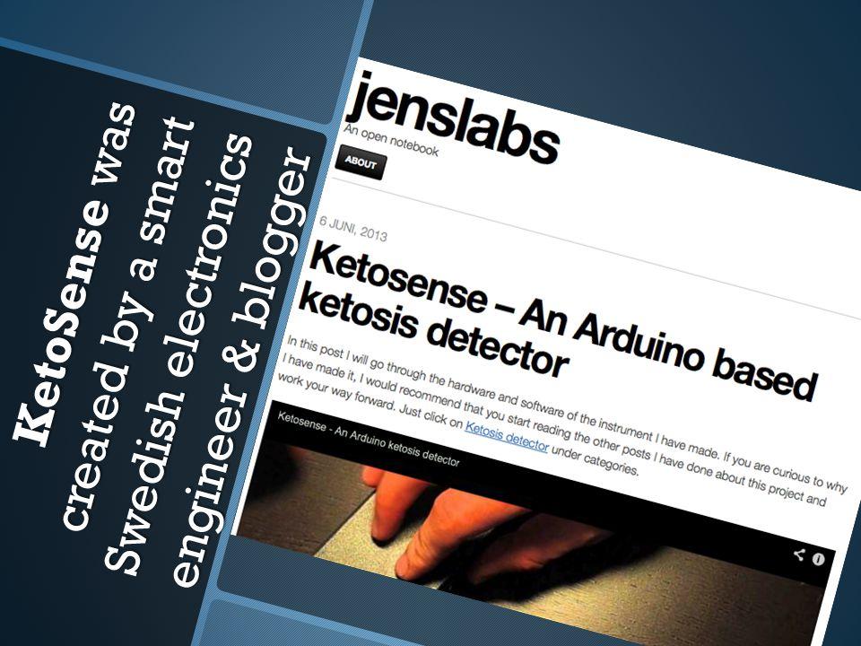 Homemade Arduino breath ketone meter called KetoSense