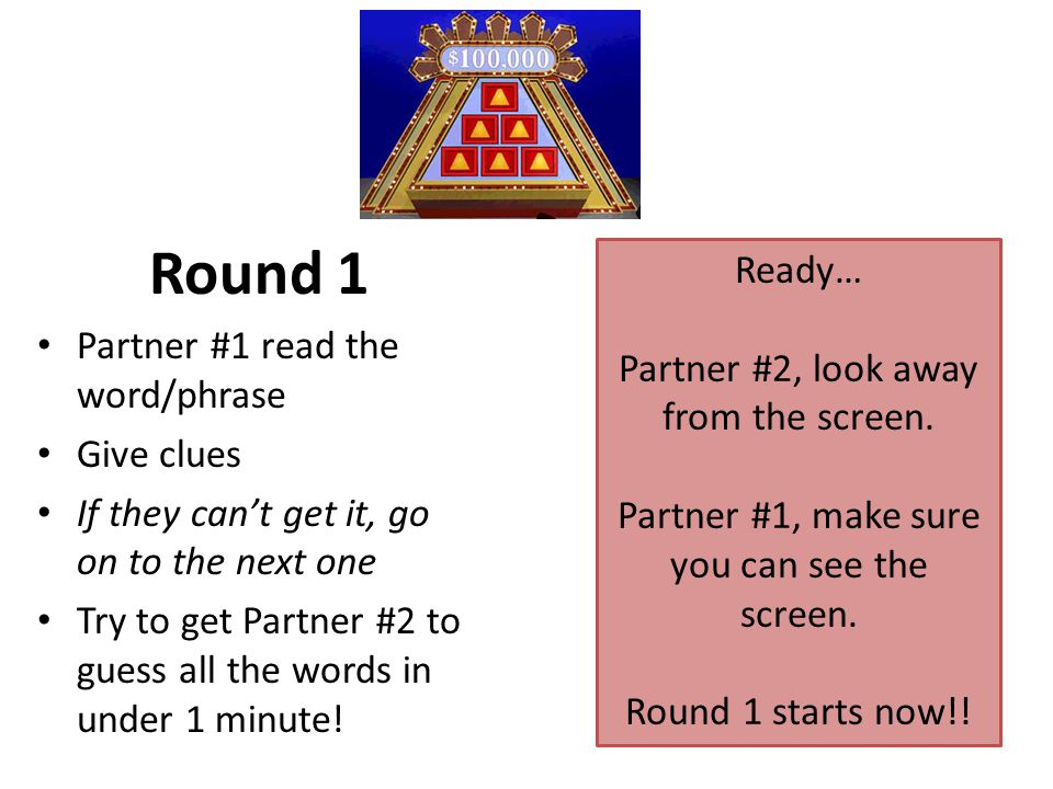 $100,000 Pyramid A Fun Vocabulary Game. CAN YOU GUESS ALL SIX WORDS IN 1 MINUTE.