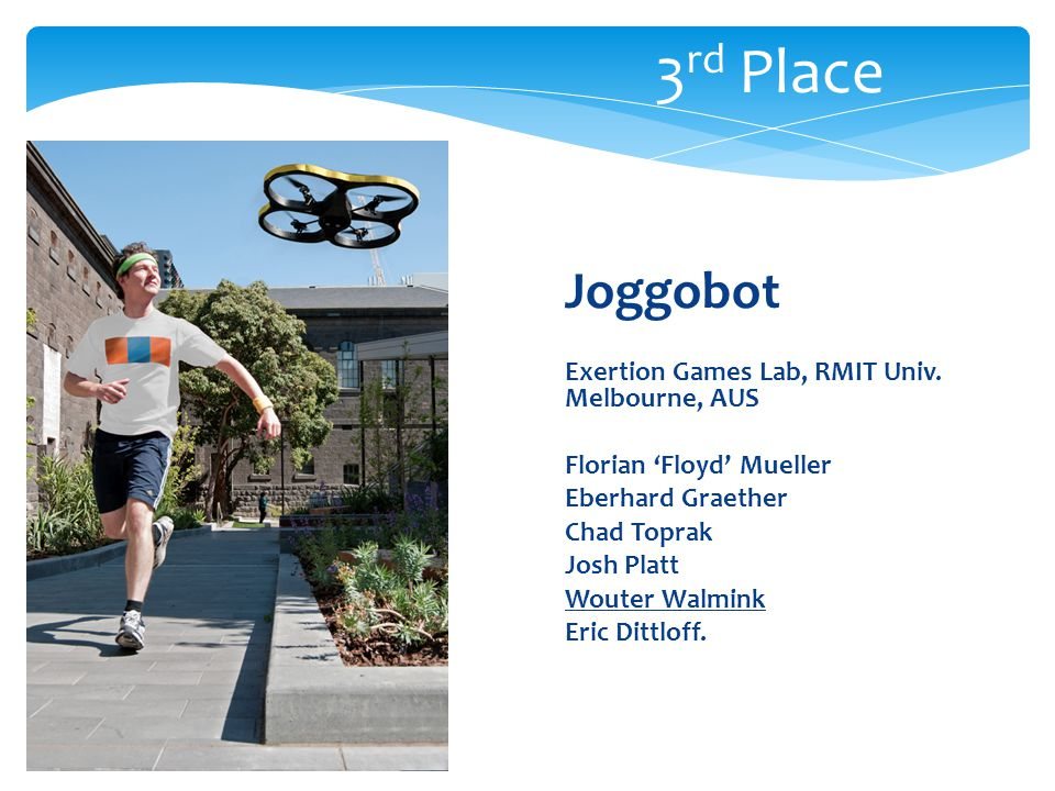 Joggobot Exertion Games Lab, RMIT Univ.