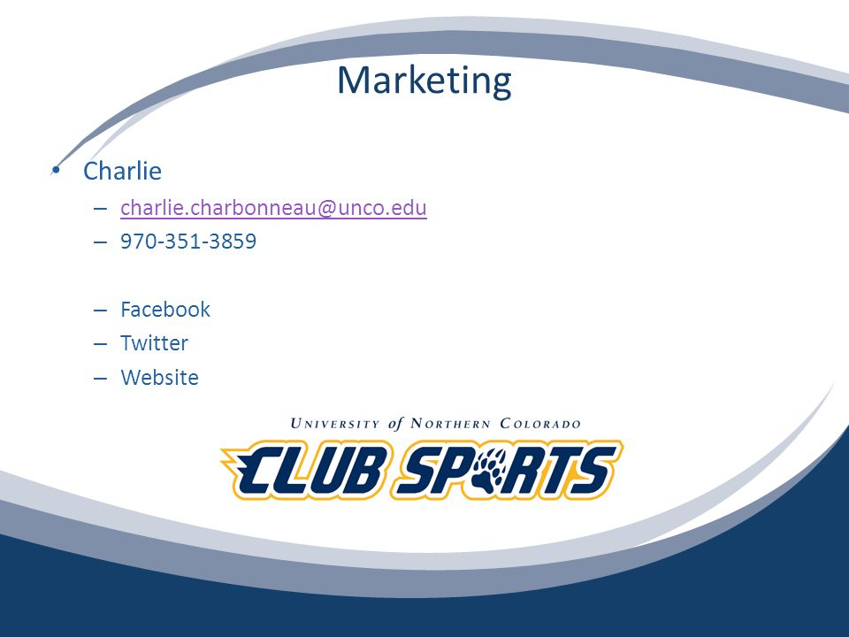 Incentive Program Presentation Club Sport Executive Council – What is the Incentive Program.