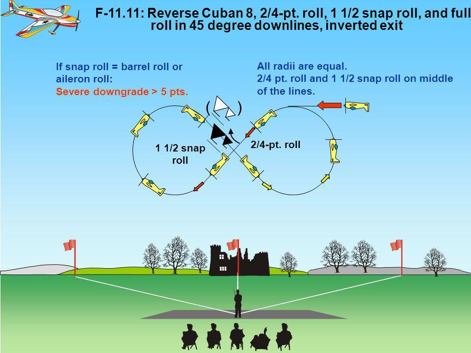 F-11.11: Reverse Cuban 8, 2/4-pt.