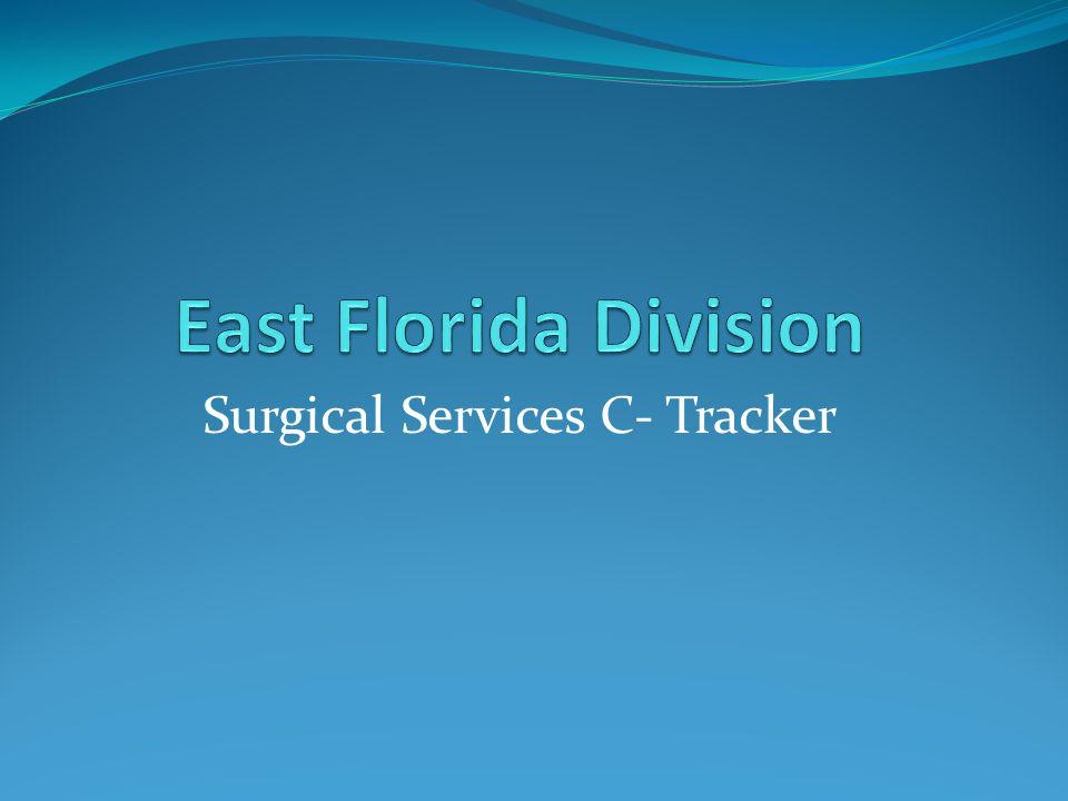 Surgical Services C- Tracker