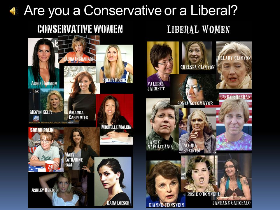 Are you a Conservative or a Liberal?
