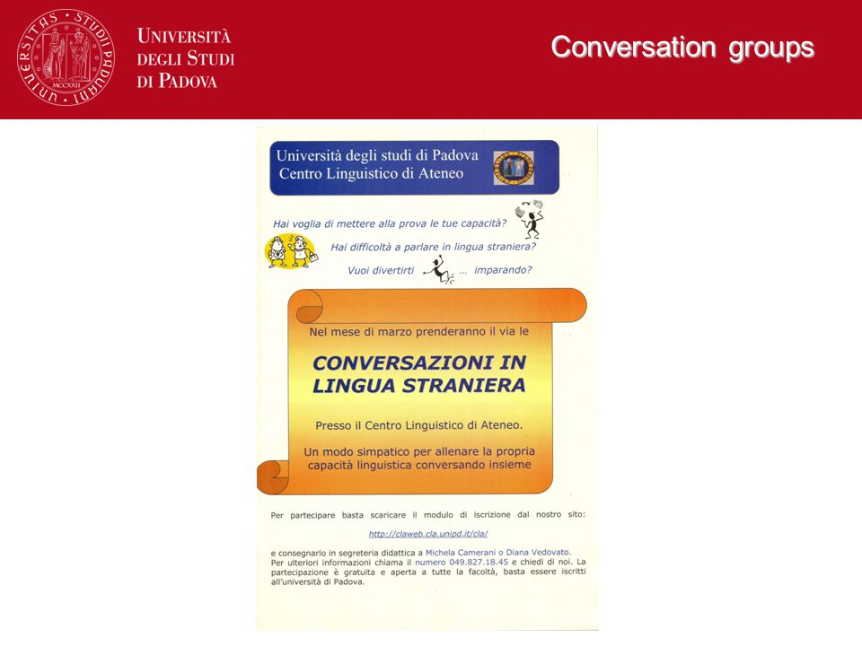 Conversation groups