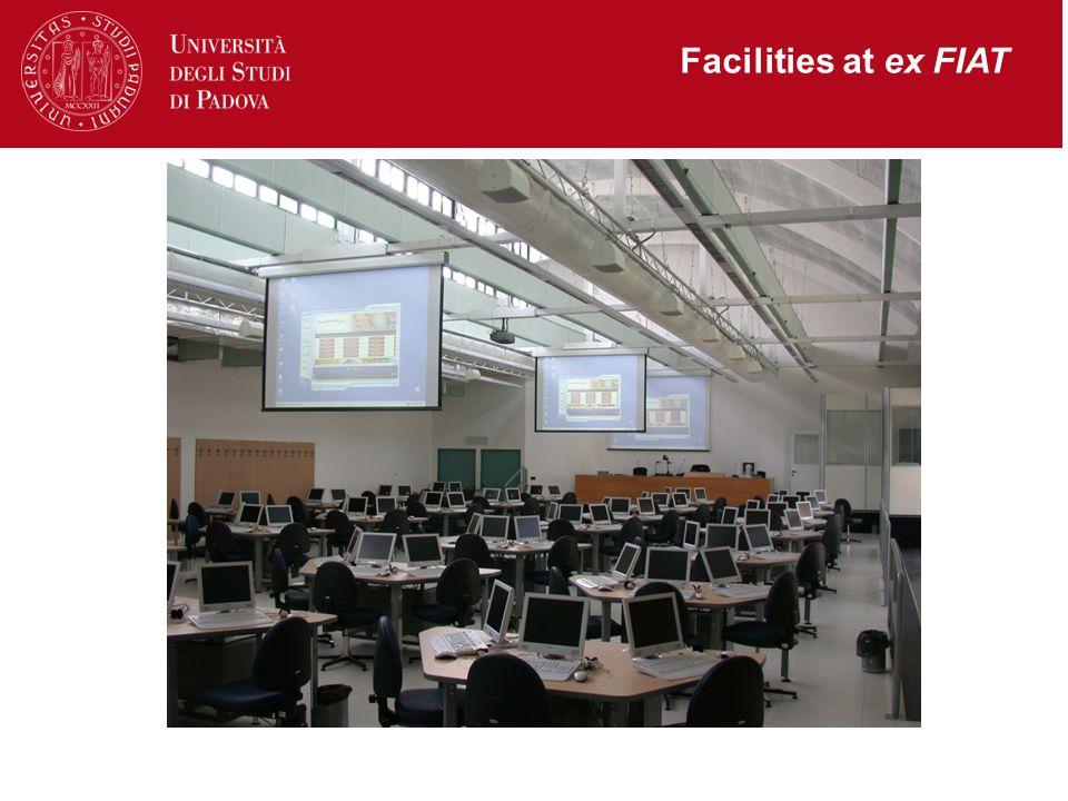 Facilities at ex FIAT