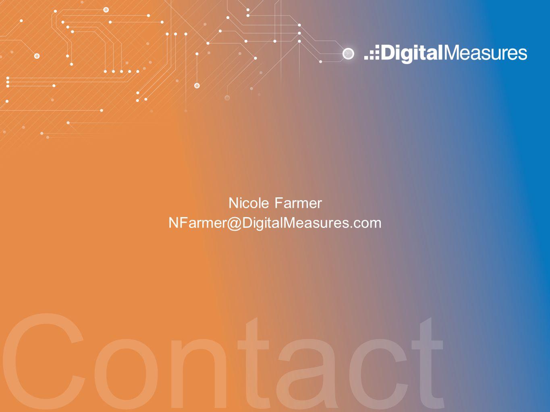 Nicole Farmer NFarmer@DigitalMeasures.com Contact