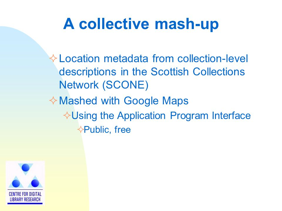 Google map of all Scotland's archives, libraries and museums