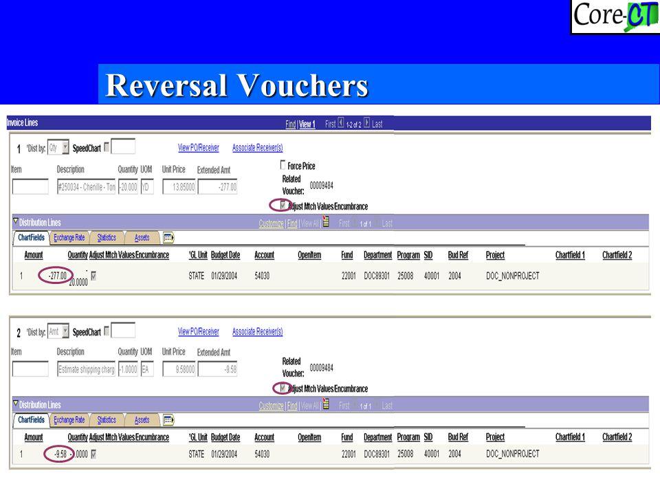 19 Reversal Vouchers