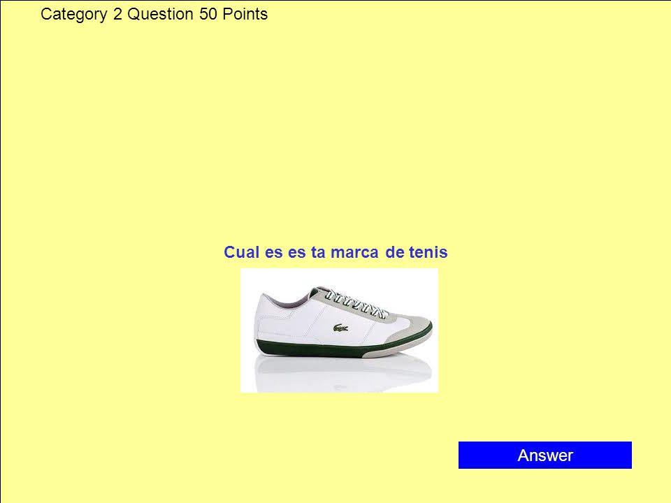 Category 2 Answer 40 Points Louis buitton
