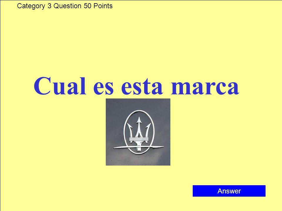 Category 3 Answer 40 Points Bugatti