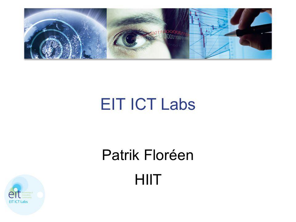 EIT ICT Labs Patrik Floréen HIIT
