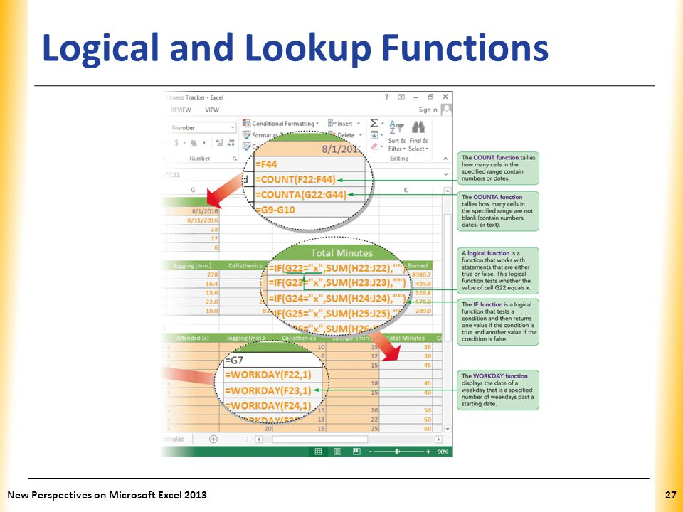 XP Logical and Lookup Functions New Perspectives on Microsoft Excel 201327