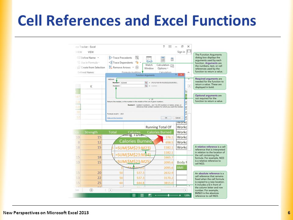 XP Cell References and Excel Functions New Perspectives on Microsoft Excel 20136