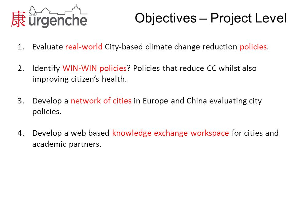 Challenges Team of largely physical scientists – Rise in prominence of social-science as project progresses Data availability Europe v China – Spatial data – Health data – Environmental data Cultural values – What does eg.