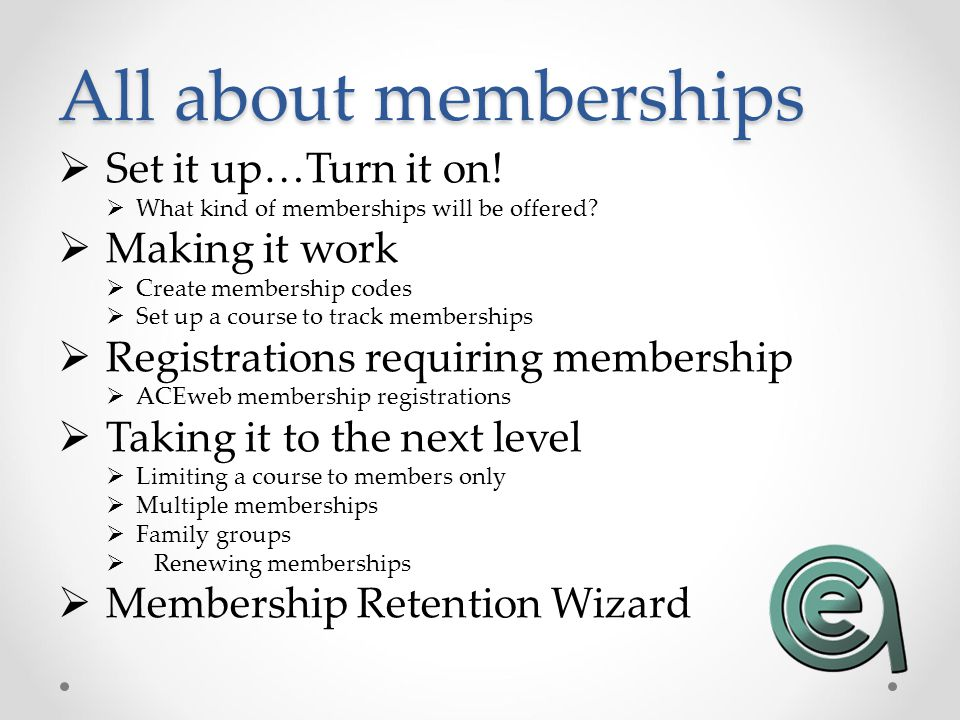 Renewing Memberships If a member renews their membership, the expiration date of their membership is updated to the new expiration date For Rolling membership..