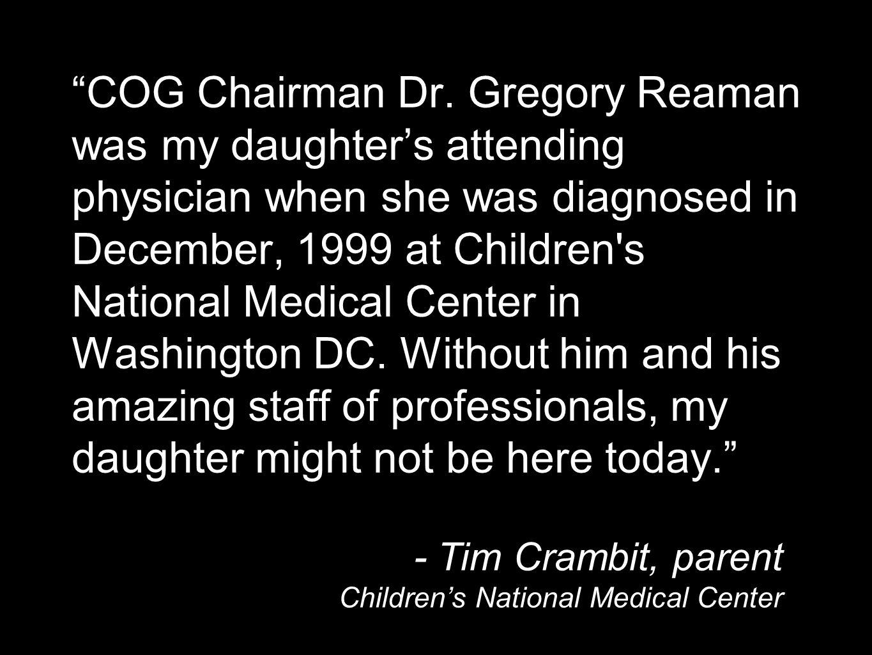 COG Chairman Dr.