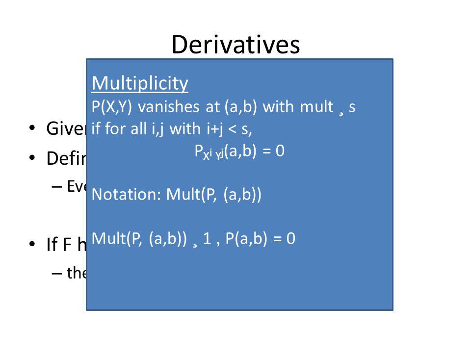 Multiplicity codes [KSY '11]