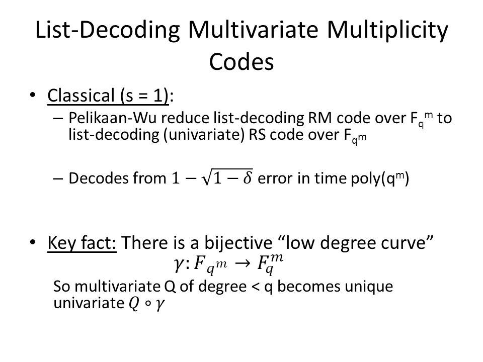 List-Decoding Univariate Multiplicity Codes